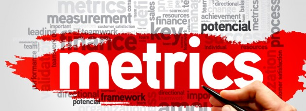 Metrics word cloud, business concept